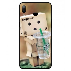 Coque De Protection Amazon Starbucks Pour Samsung Galaxy A6s