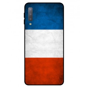 Coque De Protection Drapeau De La France Pour Samsung Galaxy A7 2018