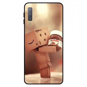 Coque De Protection Amazon Nutella Pour Samsung Galaxy A7 2018