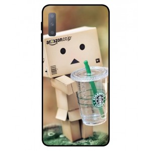 Coque De Protection Amazon Starbucks Pour Samsung Galaxy A7 2018