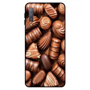 Coque De Protection Chocolat Pour Samsung Galaxy A7 2018