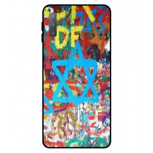 Coque De Protection Graffiti Tel-Aviv Pour Samsung Galaxy A7 2018