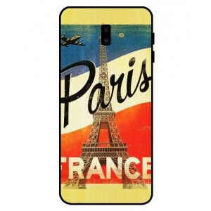 Coque De Protection Paris Vintage Pour Samsung Galaxy J6 Plus