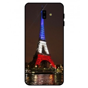 Coque De Protection Tour Eiffel Couleurs France Pour Samsung Galaxy J6 Plus