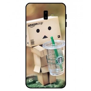 Coque De Protection Amazon Starbucks Pour Samsung Galaxy J6 Plus