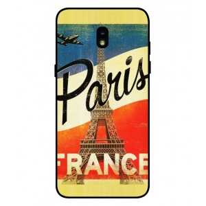 Coque De Protection Paris Vintage Pour Samsung Galaxy J7 2018