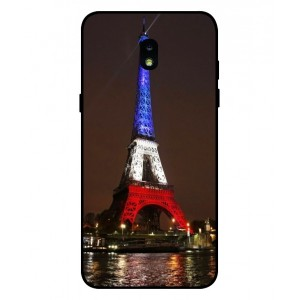 Coque De Protection Tour Eiffel Couleurs France Pour Samsung Galaxy J7 2018