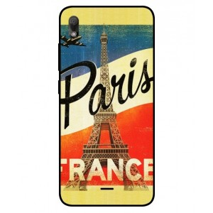 Coque De Protection Paris Vintage Pour Wiko View2 Go