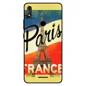 Coque De Protection Paris Vintage Pour Wiko View Max