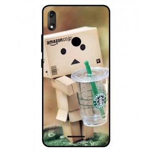 Coque De Protection Amazon Starbucks Pour Wiko View Max