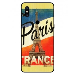 Coque De Protection Paris Vintage Pour Xiaomi Mi Mix 3