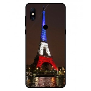 Coque De Protection Tour Eiffel Couleurs France Pour Xiaomi Mi Mix 3