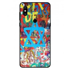 Coque De Protection Graffiti Tel-Aviv Pour Xiaomi Mi Mix 3