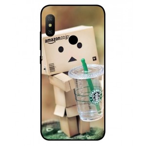 Coque De Protection Amazon Starbucks Pour Xiaomi Redmi Note 6 Pro