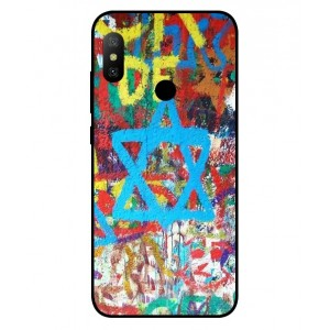 Coque De Protection Graffiti Tel-Aviv Pour Xiaomi Redmi Note 6 Pro