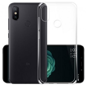 Coque De Protection En Silicone Transparent Pour Xiaomi Redmi Note 6 Pro