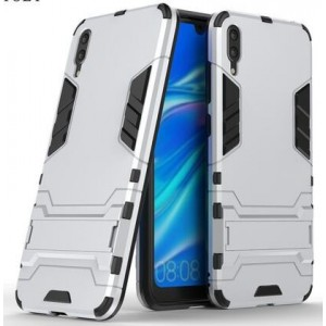 Protection Antichoc Type Otterbox Argent Pour Huawei Y7 Pro 2019