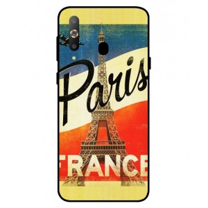 Coque De Protection Paris Vintage Pour Samsung Galaxy A8s
