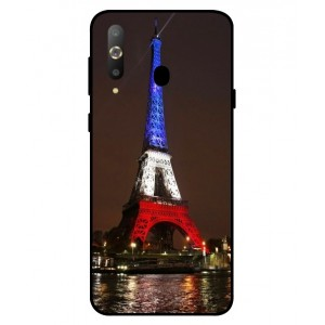 Coque De Protection Tour Eiffel Couleurs France Pour Samsung Galaxy A8s