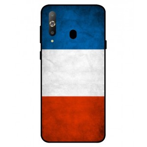 Coque De Protection Drapeau De La France Pour Samsung Galaxy A8s