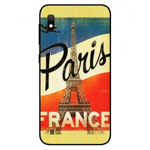 Coque De Protection Paris Vintage Pour Samsung Galaxy A10