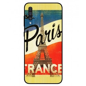 Coque De Protection Paris Vintage Pour Samsung Galaxy A50