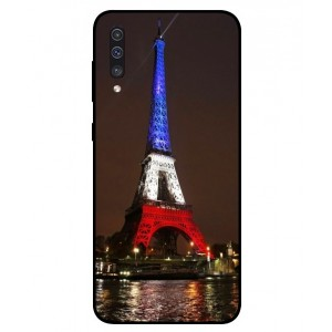 Coque De Protection Tour Eiffel Couleurs France Pour Samsung Galaxy A50