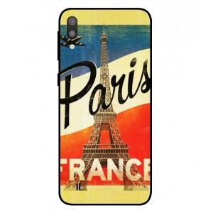Coque De Protection Paris Vintage Pour Samsung Galaxy M10