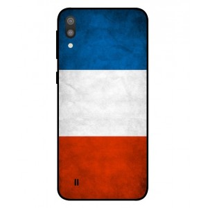 Coque De Protection Drapeau De La France Pour Samsung Galaxy M10
