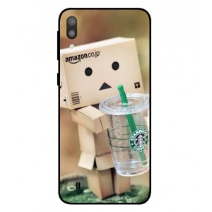 Coque De Protection Amazon Starbucks Pour Samsung Galaxy M10