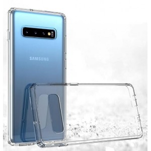 Coque De Protection En Silicone Transparent Pour Samsung Galaxy S10 Plus
