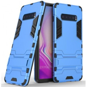 Protection Antichoc Type Otterbox Bleu Pour Samsung Galaxy S10