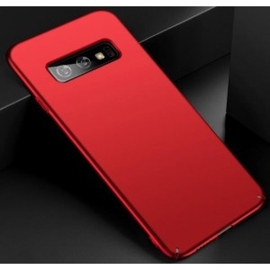 Coque De Protection Rigide Rouge Pour Samsung Galaxy S10 Plus