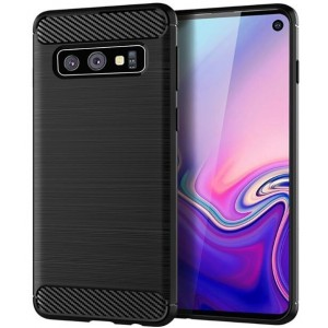 Coque De Protection En Carbone Pour Samsung Galaxy S10 Plus