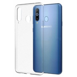 Coque De Protection En Silicone Transparent Pour Samsung Galaxy M30