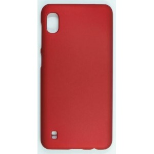 Coque De Protection Rigide Rouge Pour Samsung Galaxy A10