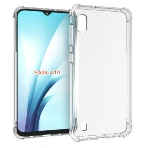 Coque De Protection En Silicone Transparent Pour Samsung Galaxy A10