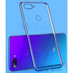Coque De Protection En Silicone Transparent Pour Xiaomi Mi 8 Lite
