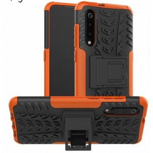 Protection Antichoc Type Otterbox Orange Pour Xiaomi Mi 9