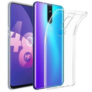 Coque De Protection En Silicone Transparent Pour Oppo F11 Pro