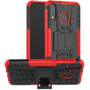 Protection Antichoc Type Otterbox Rouge Pour Samsung Galaxy M30