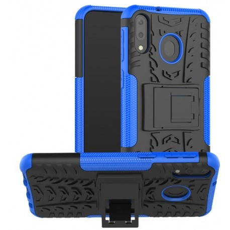 Protection Antichoc Type Otterbox Bleu Pour Samsung Galaxy M20