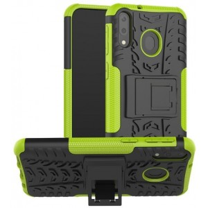 Protection Antichoc Type Otterbox Vert Pour Samsung Galaxy M20