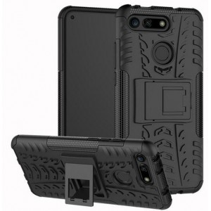 Protection Solide Type Otterbox Noir Pour Huawei Honor View 20