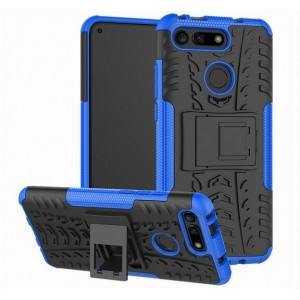 Protection Antichoc Type Otterbox Bleu Pour Huawei Honor View 20