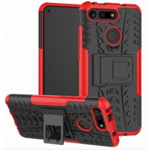 Protection Antichoc Type Otterbox Rouge Pour Huawei Honor View 20