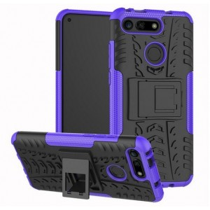 Protection Antichoc Type Otterbox Violet Pour Huawei Honor View 20