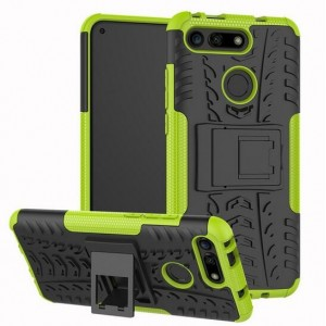 Protection Antichoc Type Otterbox Vert Pour Huawei Honor View 20
