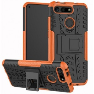 Protection Antichoc Type Otterbox Orange Pour Huawei Honor View 20