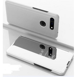Protection Etui Flip Folio Dot View Blanc Pour Huawei Honor View 20